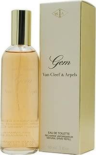 Gem By Van Cleef & Arpels For Women. Eau De Toilette Spray Refill 3 Ounces