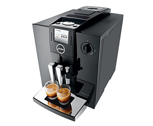 Jura IMPRESSA F8 Aroma+ TFT Coffee Machine, 1.9 L, 1450 W, 15 Bar - Piano Black