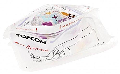 TOPCOM - Bolsas de microondas para esterilizadores
