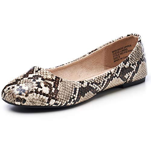 Top 10 best selling list for blue snake skin flats shoes