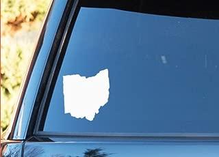 Ohio State Shape Native Local - Vinyl Decal - Car Phone Helmet - SELECT SIZE