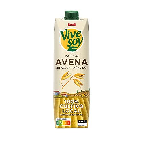 Vivesoy - Bebida de Avena Sin Azúcar Añadido - 1 Brik x 1 L