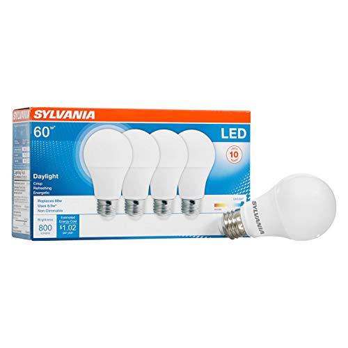 LEDVANCE 79284 Led Household Light Bulbs, 4 Pack, Daylight, 4 Count