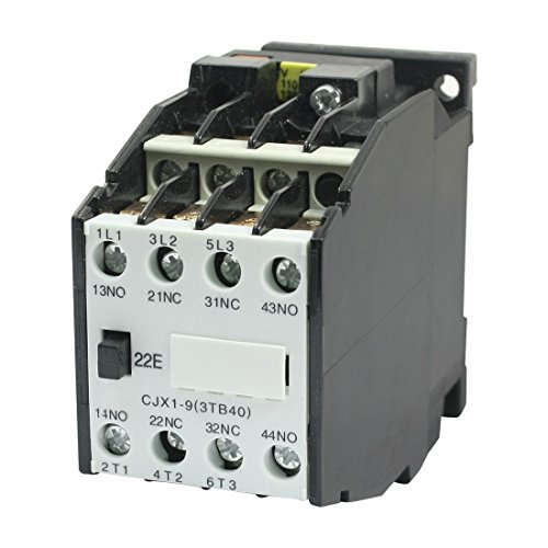 Aexit CJX1-9 3 Distribution electrical Pole 2NO 2NC 110V 50HZ Coil AC Contactor for Motor Control