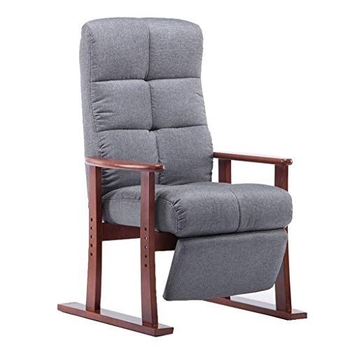 Recliner Chair Couch Sofa Adjustable Lounge Chairs Fabric Armchair Padded Seat Lazy Single Couch Relaxing Chair Leisure Gaming Chair for Home Office Recliner Couch Armchair Sleeper Leisure Recliner fo