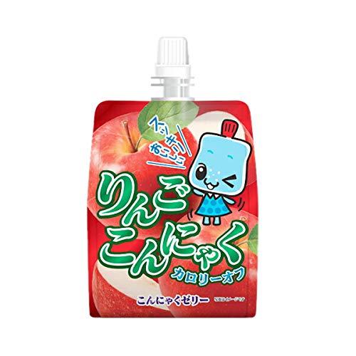 ヨコオデイリーフーズ パウちゃんシリーズ りんごこんにゃくゼリー 150g×6個入