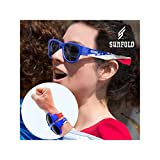 Sunfold Mundial France Gafas de Sol Enrollables, Unisex Adulto, Multicolor, Talla Única
