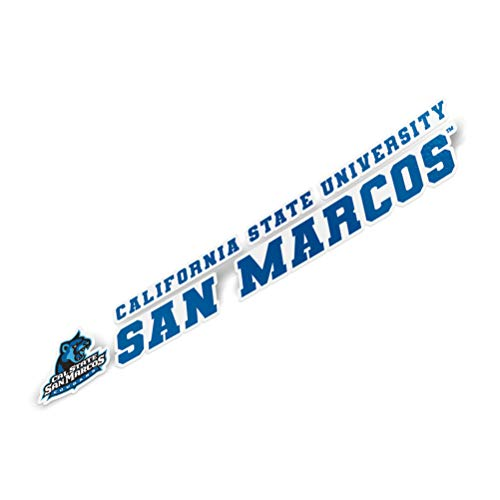 California Cal State University San Marcos CSUSM Cougars NCAA Sticker Vinyl Decal Laptop Water Bottle Car Scrapbook Full Sheet 2-Logo