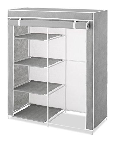 Whitmor 6091-7151 Compact Clothes Closet, Grey