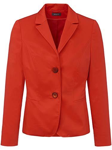 Basler Blazer da donna con abbottonatura e tasche a filo Colore: rosso 46