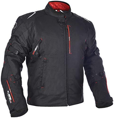 Oxford TOLEDO 1.0 - Chaqueta de moto para hombre, impermeable, corta, color negro, talla S