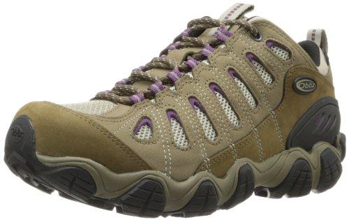 Oboz en dents de scie faible Bdry Chaussures de marche pour femme, femme, violet