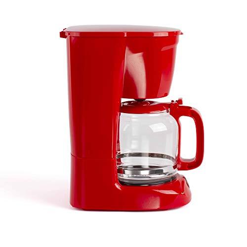 LIVOO DOD166R Cafetière Électrique Rouge 15 Tasses