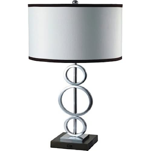 Table Lamp Outlet On Base Amazoncom