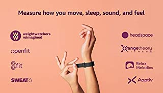 Amazon Halo Band – Measure how you move, sleep, and sound – Designed with privacy in mind - Black + Onyx - Medium (B07QKPCQKW)   Amazon price tracker / tracking, Amazon price history charts, Amazon price watches, Amazon price drop alerts