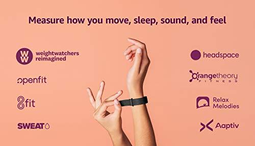Amazon Halo Band – Measure how you move, sleep, and sound –...