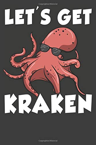 Lets Get Kraken: Aquarium Log Book 120 Pages (6