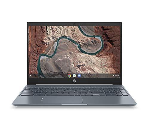 HP Chromebook 15-de0015ng (15,6 Zoll / Full HD) Laptop (Google Chrome OS, 18 mm flach, Aluminium Gehäuse, lange Akkulaufzeit, 2 x USB C) weiß