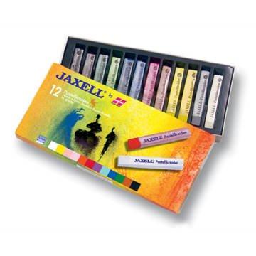 Jaxell-Pastellkreiden 12 Stück [Spielzeug]