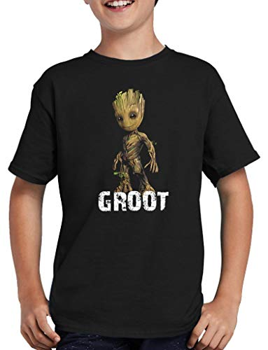 I am Groot Baby T-Shirt Kinder 122/128 Schwarz