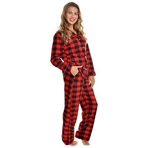 Angelina Women's Cozy Fleece Pajama Set, PJ56_M