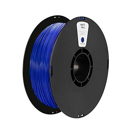 ABS-Filament 1,75 mm, 3D-Druckerfilament 1 kg-Blau