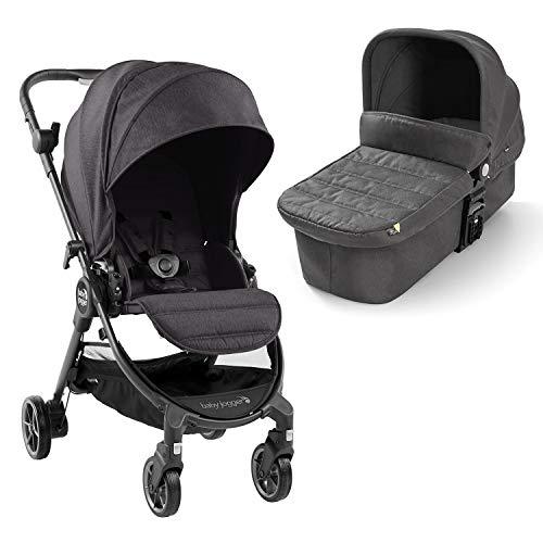 Baby Jogger City Tour LUX DUO Cochecito de bebé desde nacimiento hasta 20,5 kg, Granito