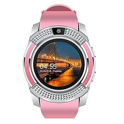 Amazon - Save 80%: V8 Bluetooth Smart Watch Wristband Fitness Positioning iOS Screen W…