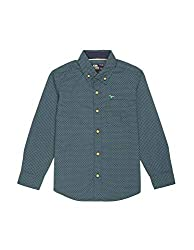 Flying Machine Boys  Animal Print Regular Fit Shirt