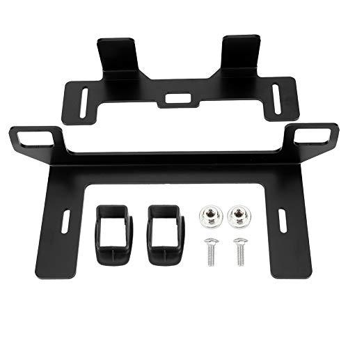 Aramox Conector de cinturón ISOFIX Universal, Equipo de Montaje de Metal con Cierre de Asiento de Seguridad para automóviles