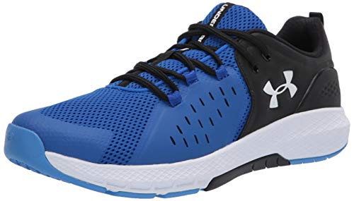 Under Armour Men's Charged Commit 2.0 Cross Trainer, Versa Blue (402)/Black, 12