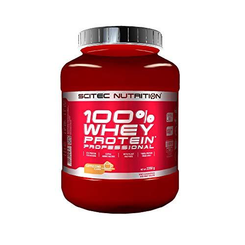 Scitec Nutrition 100% Whey Protein Professional con aminoacidi chiave extra e enzimi digestivi, 2.35 kg, Cappuccino