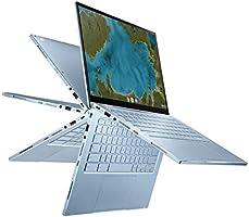 "ASUS Chromebook Flip C433 2 in 1 Laptop, 14"" Touchscreen FHD NanoEdge Display, Intel Core m3-8100Y Processor, 8GB RAM,..."