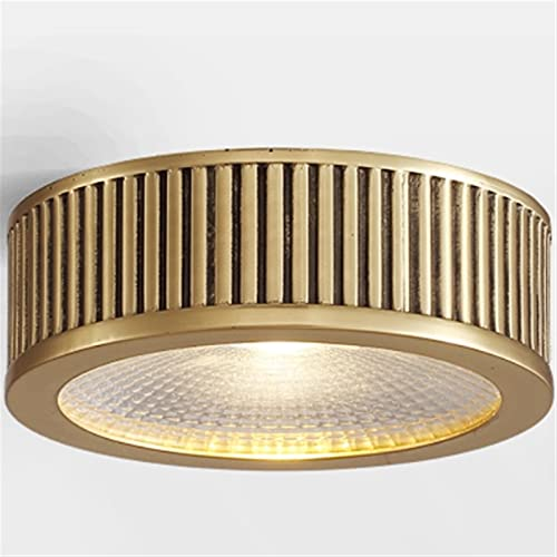 Vinteen Downlight montado en la superficie LED LED Techo de lujo de lujo Luz de lujo Lámpara de lámpara Foco de foco de techo Americano Luces de entrada Luces de pasillo Luces de techo retro ultra del