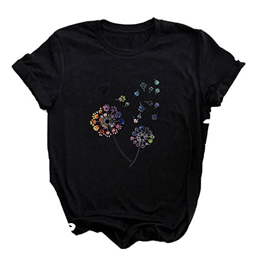 shirts Las mujeres más el tamaño de Harajuku Tops Verano Tops Gráfico Camisetas Mujeres Labios Kawaii T Ropa Niña Ratón T