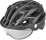 KED Covis Photocromatic Helm Black Matte Kopfumfang L | 55-61cm 2020 Fahrradhelm
