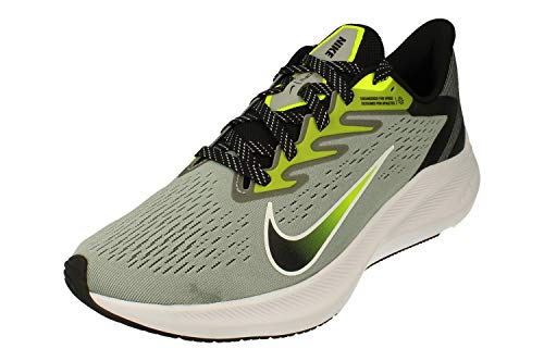 Nike Zoom Winflo 7 Hombre Running Trainers CJ0291 Sneakers Zapatos (UK 6 US 7 EU 40, Light Smoke Grey Black Volt White 002)