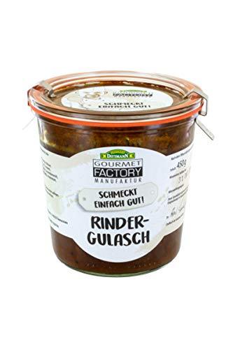 Gourmet Factory Rindergulasch, 3er Pack (3 x 450 g)
