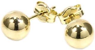 585 Gold Ohrstecker mit Opal Kugel 8 mm Grösse