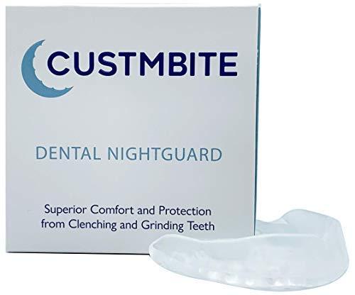 CustMbite Nightguard - Professional Dental Guard, Custom Fit Night Guard for Teeth Grinding, TMJ Relief & Bruxing
