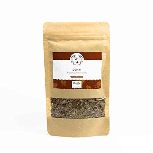 120g Kreuzkümmel Samen (Cumin) - im wiederverschliessbaren Aromabeutel - ganze Kreuzkümmelsaat