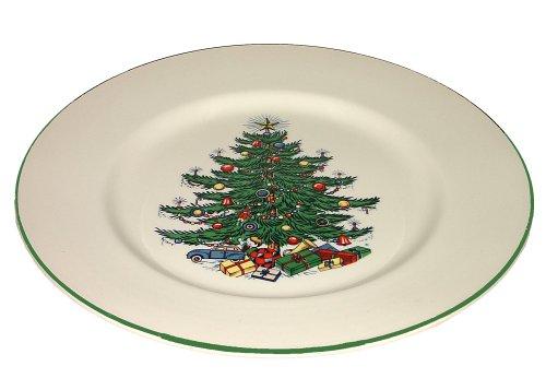 Original Christmas Tree Dinner Plate, Set of 4