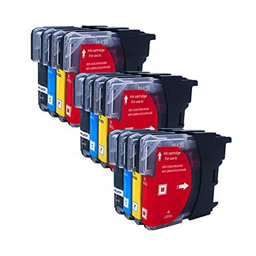 SVUZU LC975 LC985 Cartucho de Tinta Compatible para Brother, Trabajo de Alto Rendimiento con DCP-J125 DCP-J315W DCP-J515W MFC-J265W MFC-J410 MFC-J415W MFC-J220 MFC-J615W