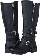 GLOBALWIN Women's 18YY06 Black Fashion Boots 8.5M