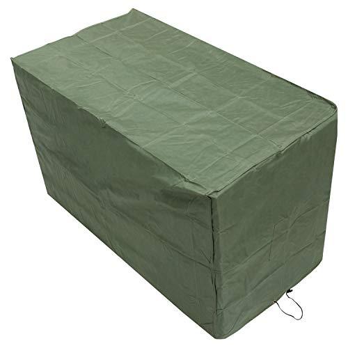 Oxbridge Green Small Bistro Outdoor Garden Patio Furniture Set Cover 1.52m x 0.82m x 0.92m/5ft x 2.7ft x 3ft 5 YEAR GUARANTEE