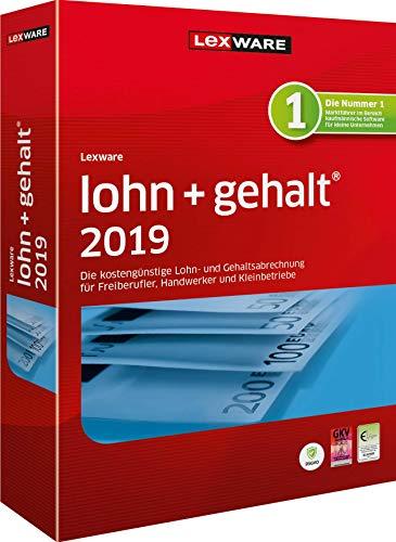 Lexware Lohn+Gehalt 2019 - Jahresversion deutsch PC - 09002-0090