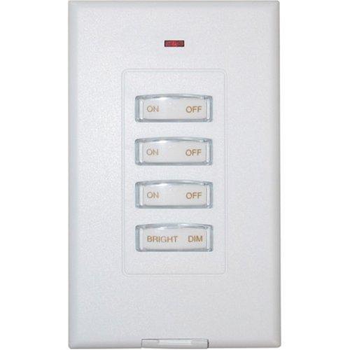 X10 - Interruptor de pared inalámbrico (3 unidades, incluye regulador)