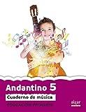 Proyecto Faro, Andantino, música, 5 Educación Primaria, 3 ciclo. Cuaderno - 9788498455342: Música. Tercer ciclo de Primaria. 5o curso