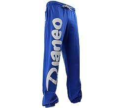 Pantalones deportes Djaneo Rio hombre y mujer Jogging algodón azul ...