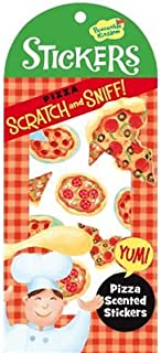 Peaceable Kingdom Scratch and Sniff Pizza Sticker Pack